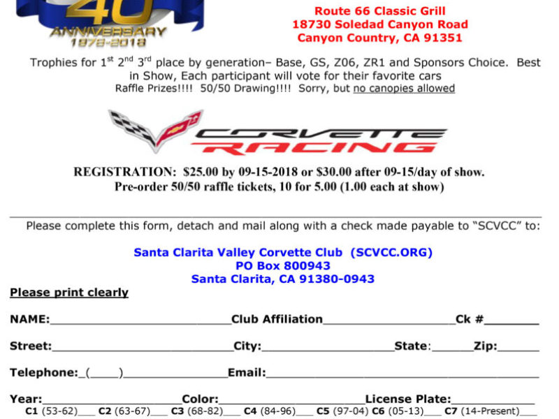 2018_SCVCC_Car_Show_Registration